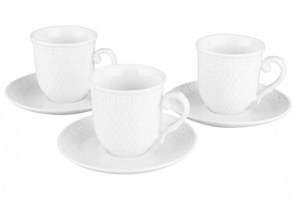 Hayal Fine Porselen Kahve Fincan Seti | 12 Parça | Büyük | By-sl2728-220cc-8