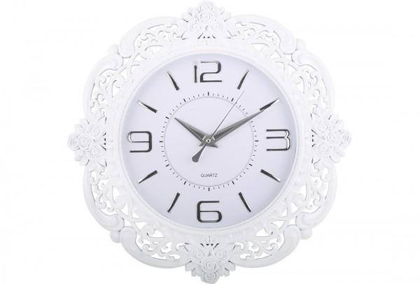 Almina Duvar Saati | Beyaz | Al-0818-weiss