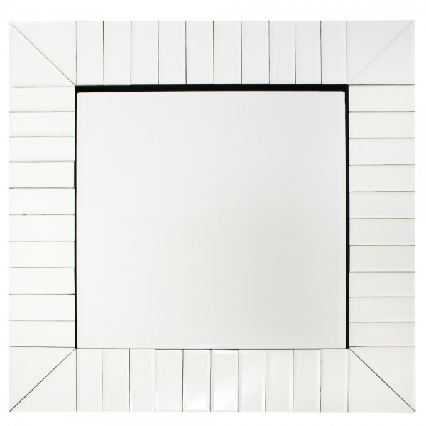 Lüks Kare Dekoratif Ayna Yüksek Kaliteli 60x60cm