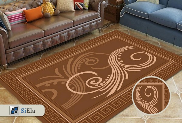 Siela Bemol Collection Halı | Kahverengi | S-2712-Brown