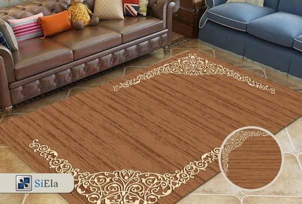 Siela Bemol Collection Halı   Kahverengi   S-2445-Brown