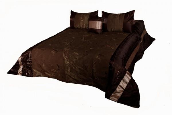 Taç Yatak Örtü Takımı Sierra