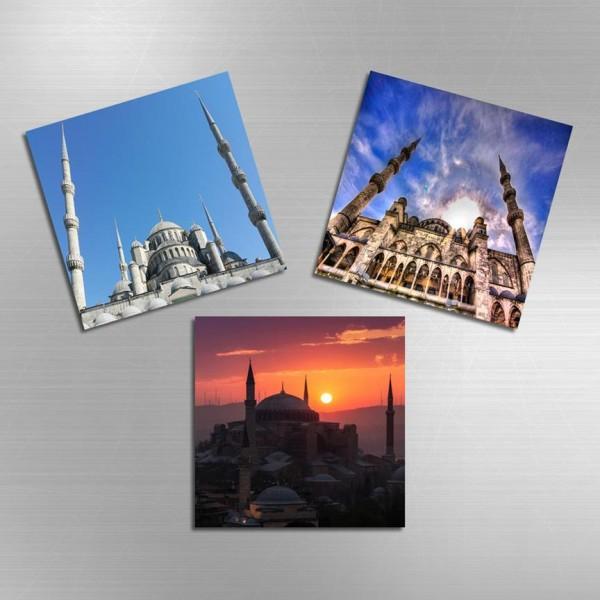 3'lü Magnet - Camii Sehirler ve Tarihi Eserler
