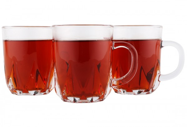 Almina 6 Adet Kulplu Çay Bardağı Seti Kalite | AL-4404