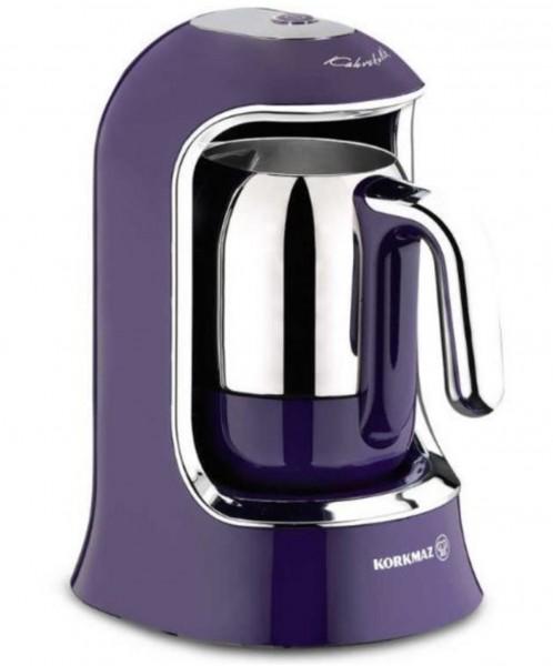 Korkmaz Kahvekolik Otomatik Kahve Makinesi | Lavanta | A860-1
