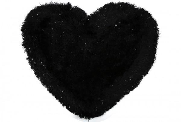 Bavary Banyo ve Kapı Önü Paspası | Kalp Şekilli | by-Heart-Black