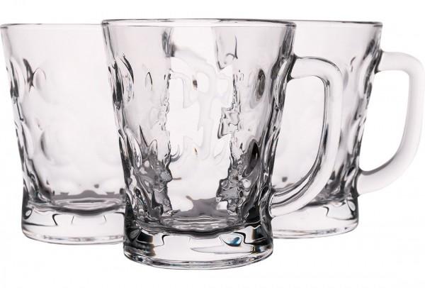 Almina Çay Bardağı | Çay Kupası | Kabarcıklı | 6 Adet | Al-dm207