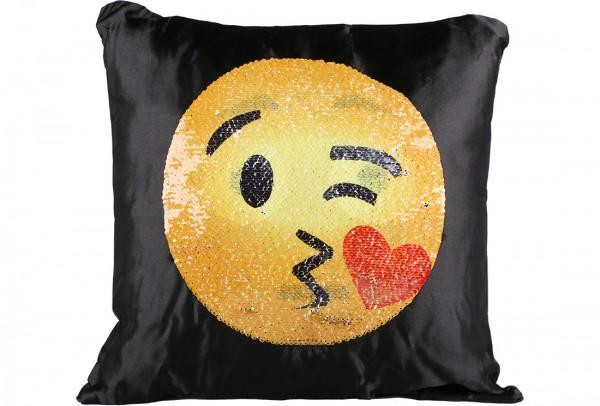 Dekonaz Dekoratif Pullu Yastık 40x40cm | Emoji | MTL-0019