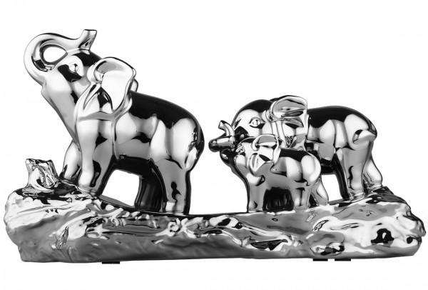 Almina Dekoratif Fil Biblo | Gümüş | Al-2652