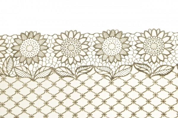 Yuvarlak Sunflower 40x84 cm Keçe Masa Örtüsü