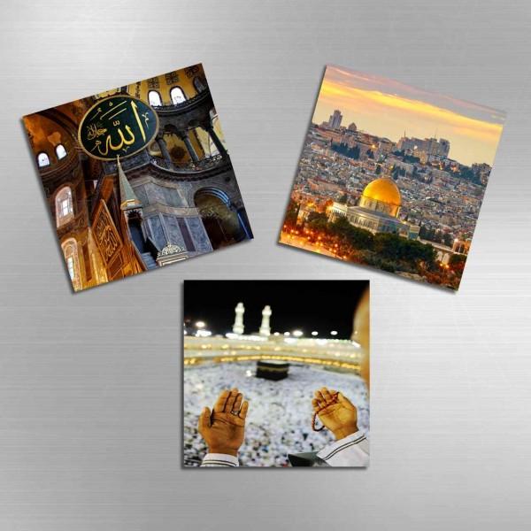 3'lü Magnet - Islam Dünyasi