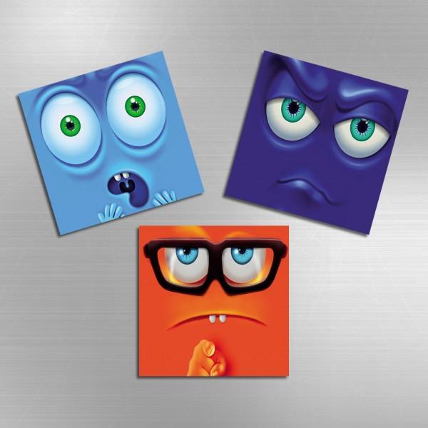 3'lü Magnet | Çocuk Motifleri 2 | MAG-1047