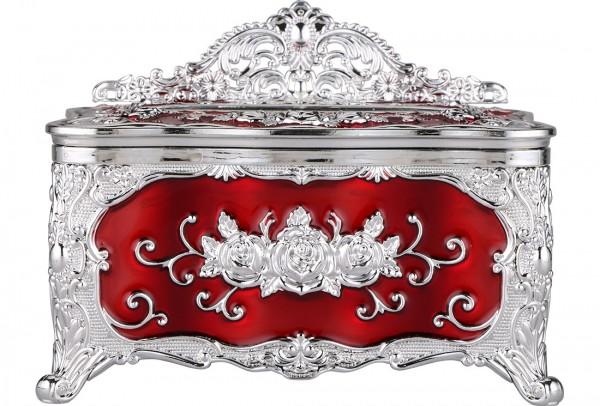 Bavary Peçete Kutusu   Kırmızı   By-Box-Red